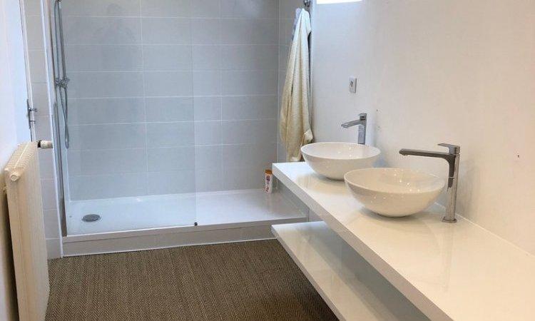 Salle de bain Chaource Après